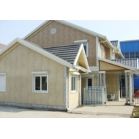 China ISO 3834 Shockproof Prefabricated Steel Houses , Fireproof Residential Steel Frame Construction wholesale
