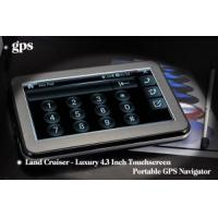 China Luxury 4.3 Inch Touchscreen GPS Navigator (L333) wholesale