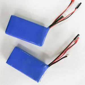 China High quality 7.4v 2600mah li polymer battery 2s lipo battey pack wholesale