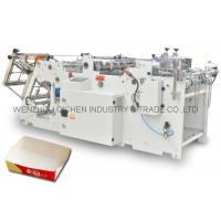 China Safety Food Pail / French Fries Paper Container Making Machine / Equipment on sale