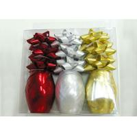 China Mixed Ribbon egg and ribbon star bow set for Christmas packing and products promotion wholesale