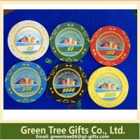 China Custom Design Funny Clay Poker Chip,Professional Chips Poker,Ceramic Poker Chips wholesale