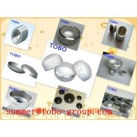 China butt welding fitting Sch 40 Stainless Steel vent pipe fitting caps on sale