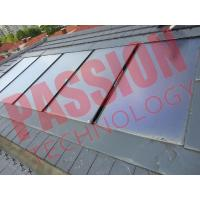 China Flat Plate Solar Thermal Collectors , House Solar Heat Collector Panels wholesale
