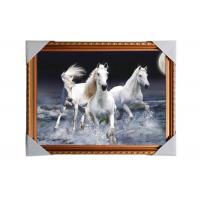 China 3D Art Custom Lenticular Printing Pictures Offset Print PS Frame For Home Decorative wholesale
