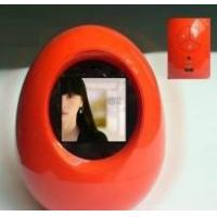 China digital photo frame,egg shape digital frame wholesale