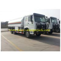 China HOWO Oil Transportation Trucks20 CBM and 20000L drive 290hp for Africa wholesale