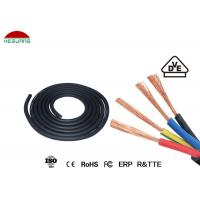 China Durable IP68 Pool Light Fittings 4×0.75mm² Four Core Rubber Sheathed Cable wholesale