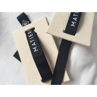 China 12mm Ribbon Attached Creative Clothing Hang Tags Retail Clothing Tags 3D Feel wholesale