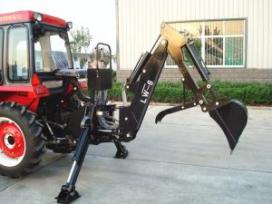 China 550kg Tractor Mounted Backhoe Diggers , 35hp Tractor Rear Digger wholesale