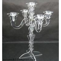 China CH (7) acrylic candlestick holder wholesale