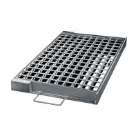 China Stock Stormwater Galvanised Drainage Grates Flatted Smooth Surface on sale