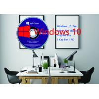 China Microsoft Win 10 Pro Product Key Software Sticker 64bit DVD + OEM key Activation Online wholesale