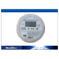 China Socket Type Residential Electric Energy Meter Bi - Directional  LCD Display Prepayment Meters wholesale