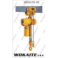 Buy cheap 3000kg Lifting Machine Electric Chain Hoist (SSDHL03-01) from wholesalers
