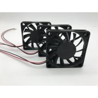 China 60 Mm Computer Cooling Fans Ball Bearing 12V DC Plastic Housing Low Noise wholesale