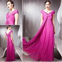 China evening dresses with sleeves,  rose evening dresses with sleeves wholesale