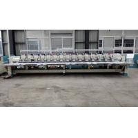 China Flat / Hat Double Sequin Embroidery Machine For Shirts With 850 RPM Speed on sale