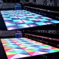 China New design indoor and outdoor Dance Floor LED Screen ,hot sales disco bar floor LED video wall/LED dispaly wholesale