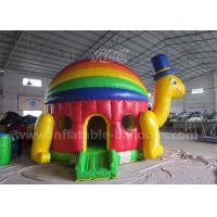 China Customized Inflatable Bouncy Castle / Colorful Inflatable Turtle Jumping Bouncer wholesale