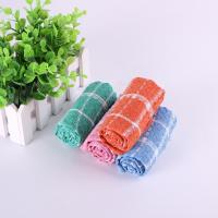 China Household 35.5*35.5cm Usage Checker Kitchen Tea Towels With Custom Microfiber Printed wholesale