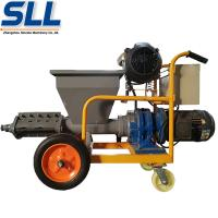 Buy cheap Multifunctional Wall Plastering Machine / Cement Mortar Plastering Machine from wholesalers