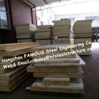 China PU Camlock Sandwich Panels With Effective Width 1150mm , Thickness 50mm wholesale