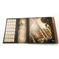 China Personalized kraft paper desk calendar with slipcase printing wholesale