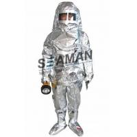 China Marine Fire Fighting Equipment / Aluminum Foil Composite Fabric Heat Insulation Fireman Protective Suit wholesale