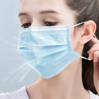 China Customized Non Woven Disposable Mask Personal Safety Medical Mouth Mask wholesale
