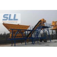 China CE Approved Mobile Concrete Batching Plant Portable Space Saving 17.5T wholesale