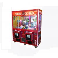 China 1-2 Player Toys Claw Machine With Dual Thread High Speed Main Board wholesale