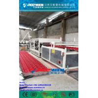 China PVC+ASA Composite Roof Tile Machine/PVC Roof Tile Manufacturing Machine/ASA synthetic resin roof tiles wholesale