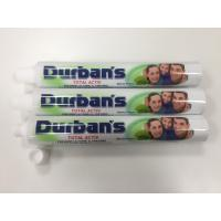 Buy cheap D28*165mm ABL Laminated Toothpaste Tube with AL Barrier / 7 Colors Printing / Fez Cap from wholesalers
