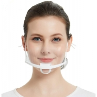 China Earloop Style Transparent Plastic Face Cover For Chef wholesale