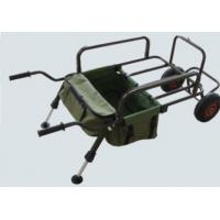 China Sturdy Powder Coated Steel Frame Standard Fishing Tackle Trolley wholesale