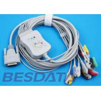 China 10 Leads ECG EKG Cable IEC Needle / Clip / Banana Electrode Compatible BJ-901D wholesale