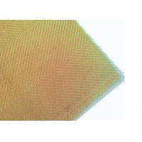 China Custom Gold Color Aechitectural Wire Mesh For Making Lamp Cover Shades on sale