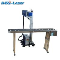 China 20W Flying Laser Marking Machine Non - Contact Laser Marking Code wholesale