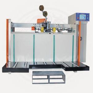 China Semi-auto Carton Box Stitching Machine, Carton Box Folding + Stitching wholesale