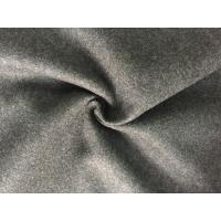 China 57/58 Inch Coat Weight Wool Fabric Woven Technics For Grement , Wool Flannel Cloth wholesale