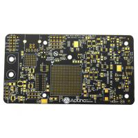 China High TG Black Soldermask Prototype Multi Layer Pcb Laser Drill Communicate Electronics Board wholesale