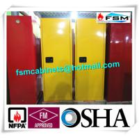 China Fireproof Industrial Safety Cabinets , Chemical Storage Cupboards For Flammables wholesale