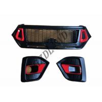 China GZDL4WD 4x4 Toyota Hilux Revo Rocco Front Grill Replacement 2018 TRD wholesale
