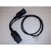 China Open End J1939 Y Connector Cable 3 Ohm Max Contact Resistance 1 Year Warranty wholesale