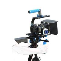 China Dslr rig movie kit with shoulder mount+Hand Grip+Follow Focus+Matte BoxFor Camcorder on sale