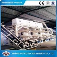 China Wheat Straw Rice Husk Wood Pellet Production Line With 12 Months Warranty wholesale