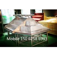 China Stainless Stand Fruit Vegetable Display Rack Single Sided / Double Sided wholesale