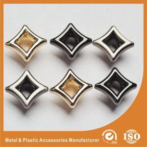 China Inner 4.5mm Metal Ring Eyelet Plating Gold For Garment / Handbag wholesale