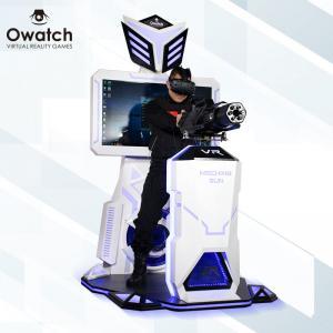 China Owatch-360 Shooting Gun Htc Vive Glasses Game Machine vr arcade game standing battle gun shooting virtual reality wholesale